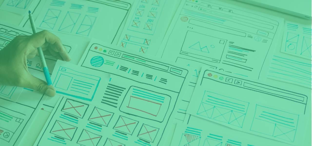 """Ilustrační obrázek s textem - Stavte digitál na pevných základech, aneb jak na """"design system"""", který pomůže byznysu"""