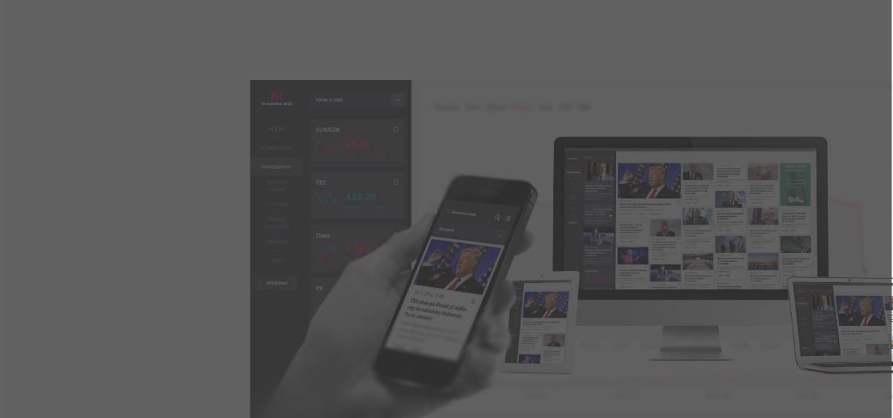 Ilustrační obrázek s textem - Redesign Investičního webu – unikátní obsahová platforma