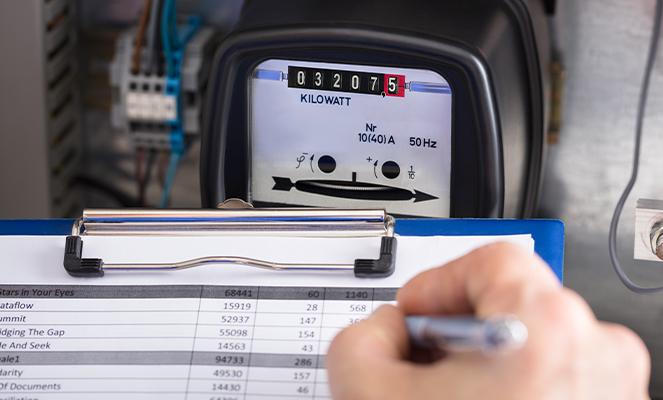 Jak provést samoodečet elektroměru a plynoměru