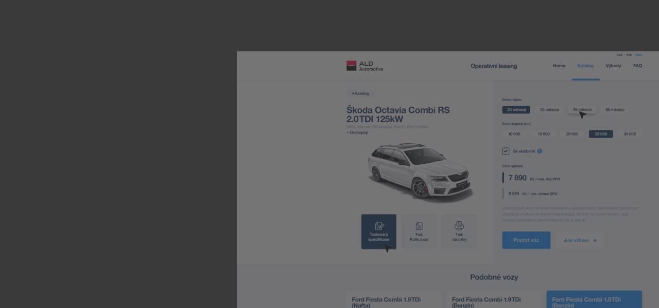 Ilustrační obrázek s textem - Nová webová aplikace Aldoperak